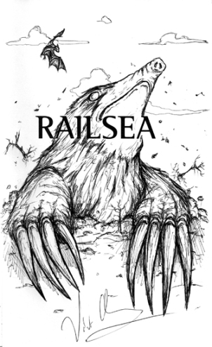 Railsea - Moldywarpe remarque