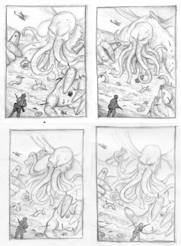 cthulhu sketches