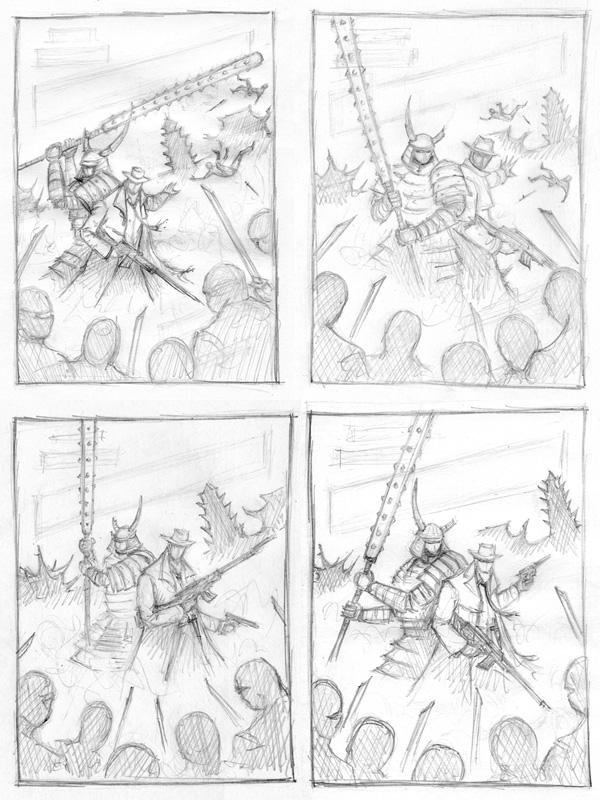 warbound sketches