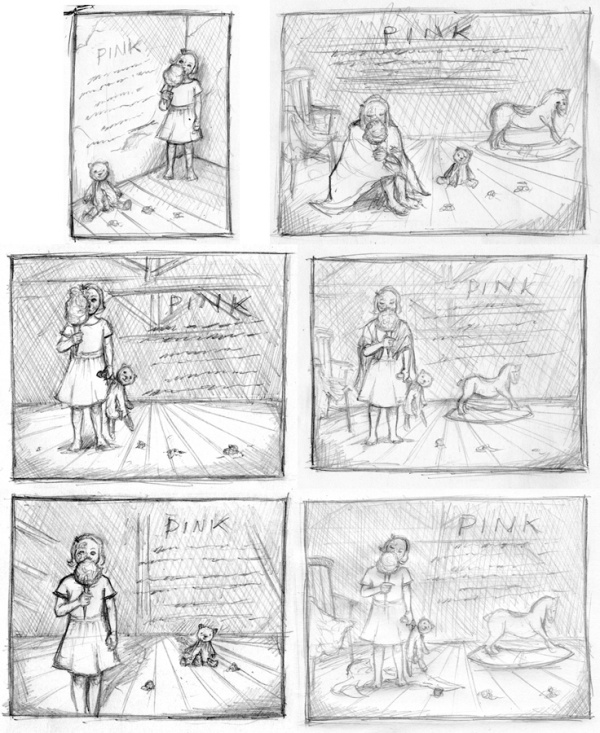 pink roughs