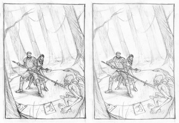 messengers legacy roughs