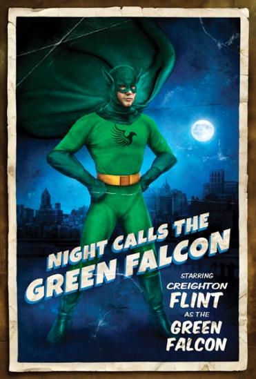 night calls the green falcon